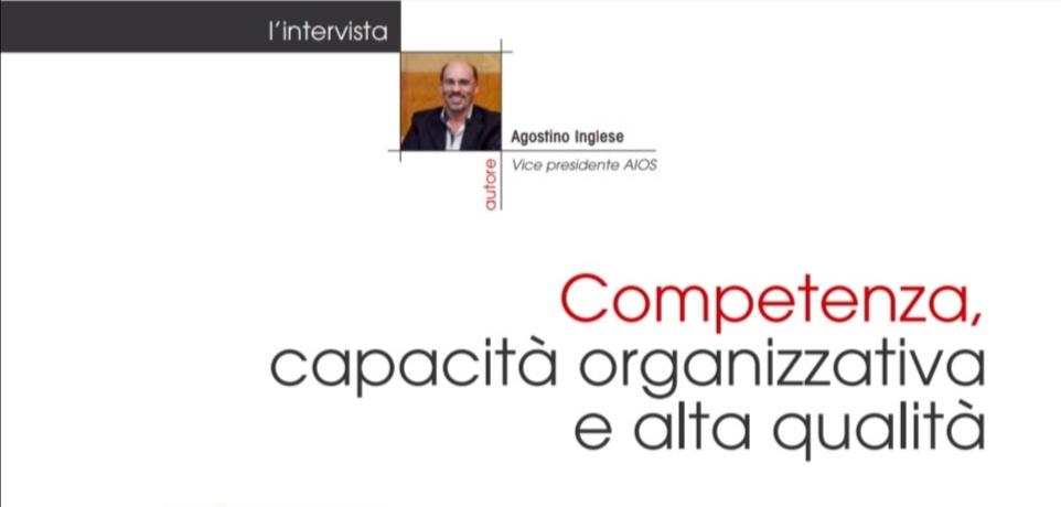 Competenza, capacità organizzativa e alta qualità